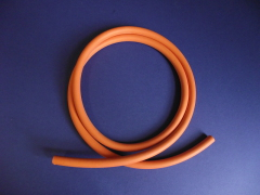 6mm id Red Rubber Tube - TR6N