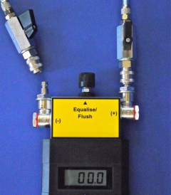6000WFV-Q Digital Water Manometer