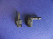 Plastic Angled Push On Connector