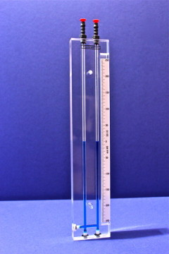 Solid Acrylic U Tube Manometer