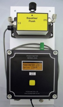 Digital Swimming Pool Flowmeter
